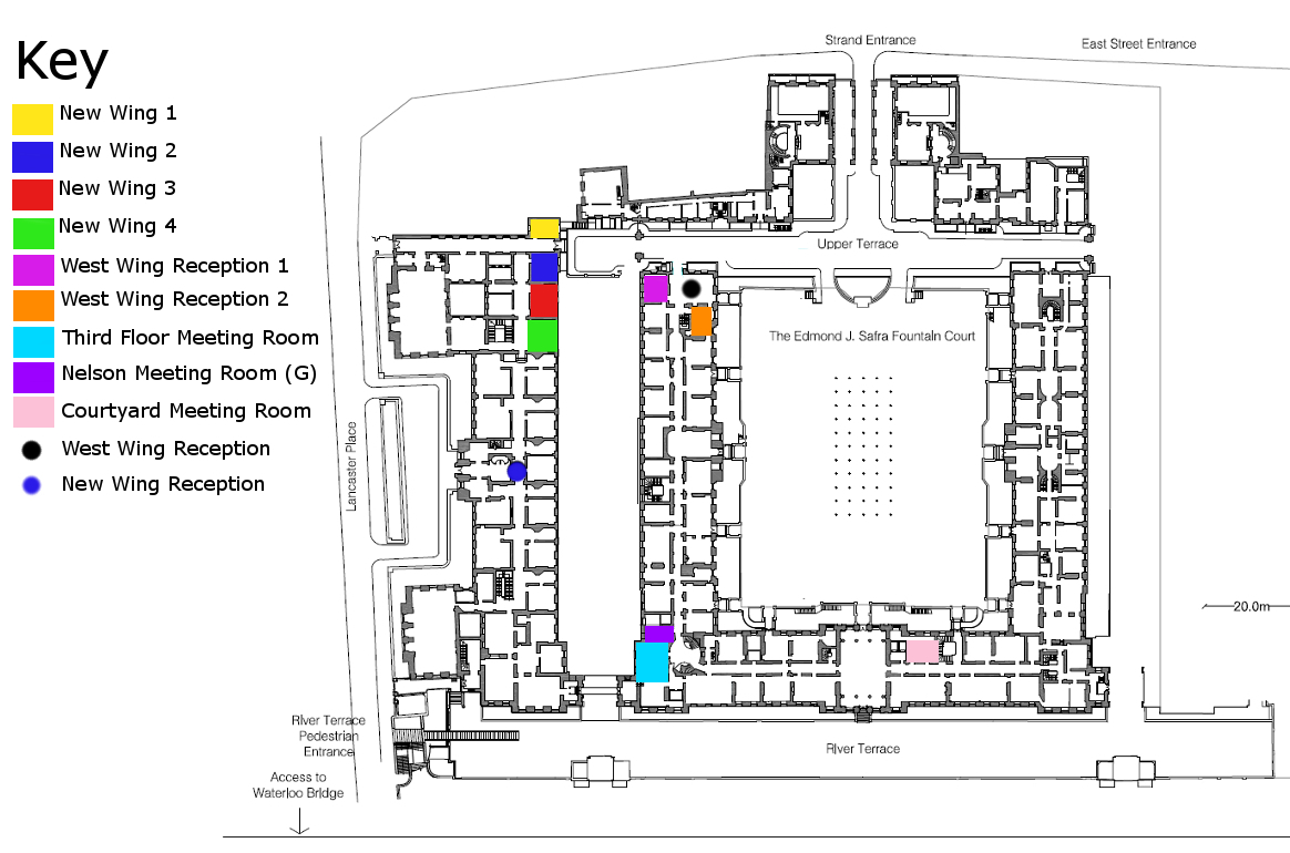 Meeting room map
